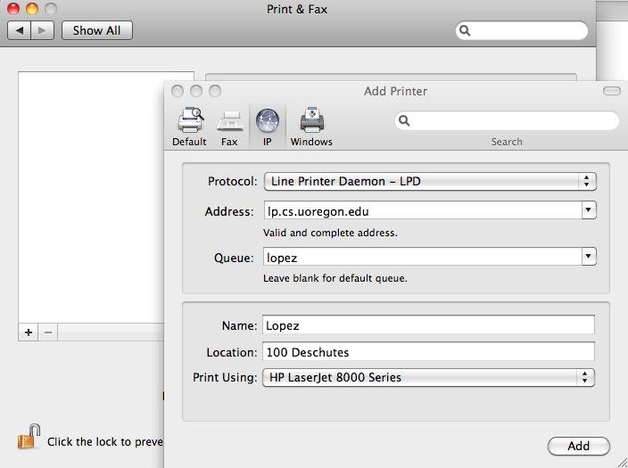 Xerox Printer Drivers For Mac Os X 10.6